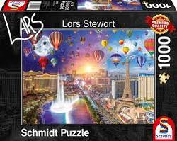 Puslespel Schmidt 1000 Las Vegas - Night and Day 1000 bitar - Schmidt