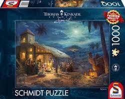 Puslespel Schmidt 1000 Spirit - The Nativity 1000 bitar - Schmidt