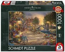 Puslespel Schmidt 1000 Amsterdam Cafe 1000 bitar - Schmidt
