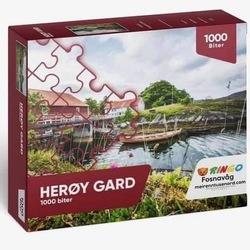 Lokalt puslespel Herøy Gard 1000 bitar Herøy Gard - Lokale puslespel