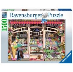 Ravensburger puslespel 1500b Ice Cream Shop 1000 bitar - Ravensburger