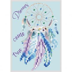 Diamond Dotz kort med drømmefanger Kort med drømmefanger - Diamond Dotz