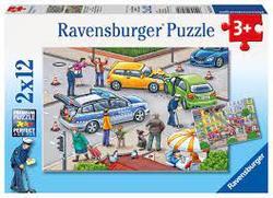 Ravensburger 2x12 Blue Lights on the Way 2x12 - Ravensburger