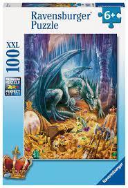 Ravensburger 100b XXL Dragon's Treasure 100 XXL - Ravensburger