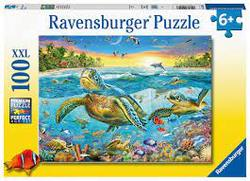 Ravensburger 100b XXL Swim with Sea Turtles 100 XXL - Ravensburger