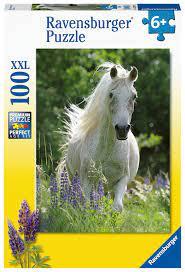 Ravensburger 100b XXL Horse in Flowers 100 XXL - Ravensburger