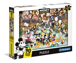 Clementoni puslespel 1000b Mickey 90 celebration 1000 bitar - Clementoni