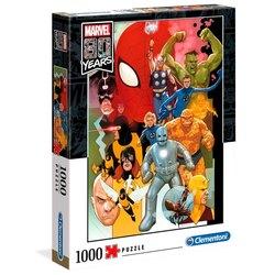 Clementoni puslespel 1000b Marvel 80 years  1000 bitar - Clementoni