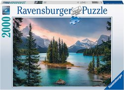 Ravensburger puslespel 2000b Spirit Island Canada 2000 bitar - Ravensburger