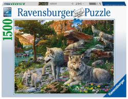Ravensburger puslespel 1500b Ulver i våren 1500 bitar - Ravensburger