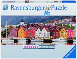 Ravensburger Puslespel 1000b Bergen panorama 1000 bitar - Ravensburger