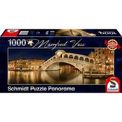 Schmidt puslespel 1000 Rialto Bridge - panorama  1000 bitar - Schmidt