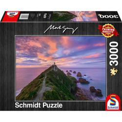 Schmidt puslespel 3000 Nugget Point Lighthouse LEV UK 22 3000 bitar - Schmidt