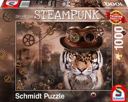 Schmidt puslespel 1000 Steampunk Tiger  1000 bitar - Schmidt