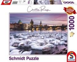 Schmidt puslespel 1000 Prague Svans  1000 bitar - Schmidt