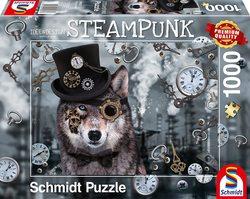 Schmidt puslespel 1000 Steampunk Wolf  1000 bitar - Schmidt