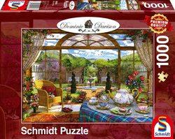 Schmidt puslespel 1000 wiew from the conservatory  1000 bitar - Schmidt