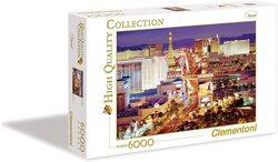 Clementoni puslespel 6000 Las Vegas  6000 bitar - Clementoni
