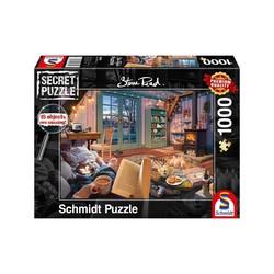Schmidt puslespel 1000 secret The Holiday Home  1000 bitar - Schmidt