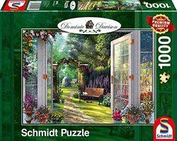 Schmidt puslespel 1000 wiew of the Enchanted Garden  1000 bitar - Schmidt