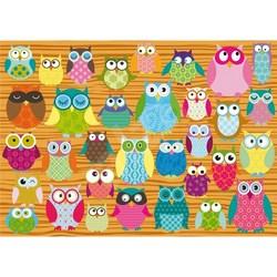 Schmidt puslespel 500 Owls 500 bitar - Schmidt