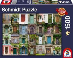 Schmidt puslespel 1500 Doors  1500 bitar - Schmidt