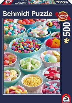Schmidt puslespel 500 Sweet temptations  500 bitar - Schmidt