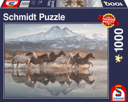 Schmidt puslespel 1000 Horses in Cappadocia  1000 bitar - Schmidt