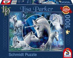 Schmidt puslespel 1000 Charming Unicorns  1000 bitar - Schmidt