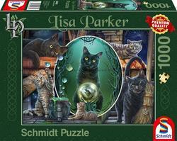 Schmidt puslespel 1000 Magical Cats  1000 bitar - Schmidt