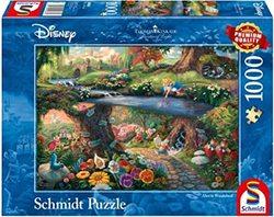 Schmidt puslespel 1000 Disney Alice in Wonderland  1000 bitar - Schmidt