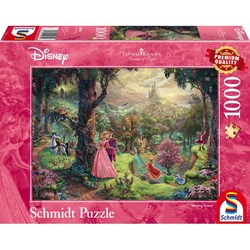 Schmidt puslespel 1000 Disney Sleeping Beauty 1000 bitar - Schmidt