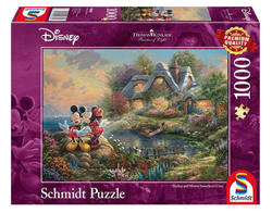 Schmidt puslespel 1000 Disney Mickey & Minnie 1000 bitar - Schmidt