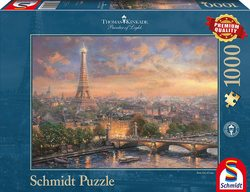 Schmidt puslespel 1000 Paris, City of Love  1000 bitar - Schmidt