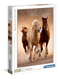 Clementoni puslespel 1000 Running horses 1000 bitar - Clementoni
