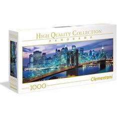 Clementoni puslespel 1000 panorama New York 1000 bitar - Clementoni