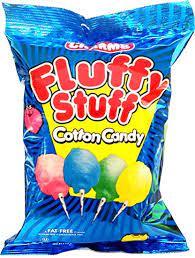 Fluffy Stuff Cotton Candy cotton candy - Godteri
