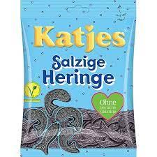 Katjes Salzige Heringe salt lakris - Godteri