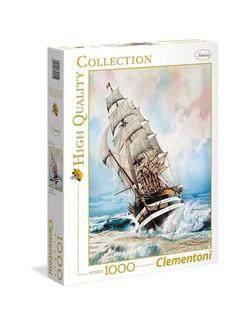 Clementoni puslespel 1000 Amerika Vespucci 1000 bitar - Clementoni