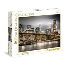 Clementoni puslespel 1000 New York Skyline  1000 bitar - Clementoni