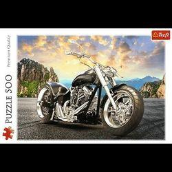 Trefl puslespel 500 Black Motorcyckle 500 bitar - Trefl