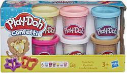 PD Confetti Compound Collection confetti 6pk - PLAY-DOH