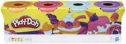 PD Classic Color Oransj, rosa, lys blå, lilla - PLAY-DOH