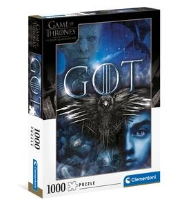 Clementoni puslespel 1000 Games of Thrones 1000 bitar - Clementoni
