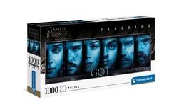 Clementoni puslespel 1000 Games of thrones panorama 1000 bitar - Clementoni