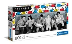 Clementoni puslespel 1000 Friends panorama 1000 bitar - Clementoni