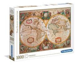 Clementoni puslespel 1000 Old Map 1000 bitar - Clementoni