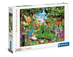 Clementoni puslespel 2000 Fanastic Forrest 1000 bitar - Clementoni
