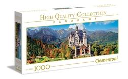 Clementoni puslespel 1000 NEUSCHWANSTEIN panorama 1000 bitar - Clementoni