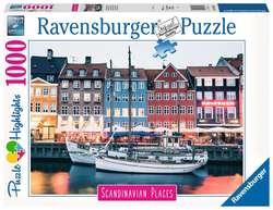 Ravensburger puslespel 1000 København, Danmark 1000 bitar - Ravensburger